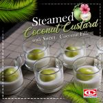 Steamed Coconut Custard with LG-304903(49)